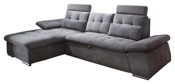 Eck-Sofa in Dunkelgrau