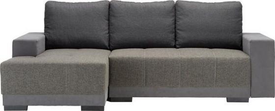 Sedací Souprava Lorenzo L *cenový Trhák* - šedá/tmavě hnědá, Moderní, textil (136/87/245cm) - MODERN LIVING