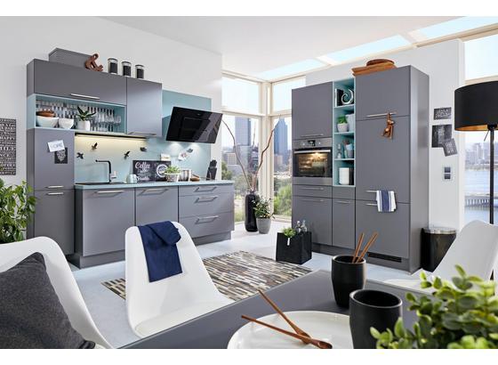 Kuchyně Na Míru Toledo - bílá/černá, Moderní, kompozitní dřevo - Vertico