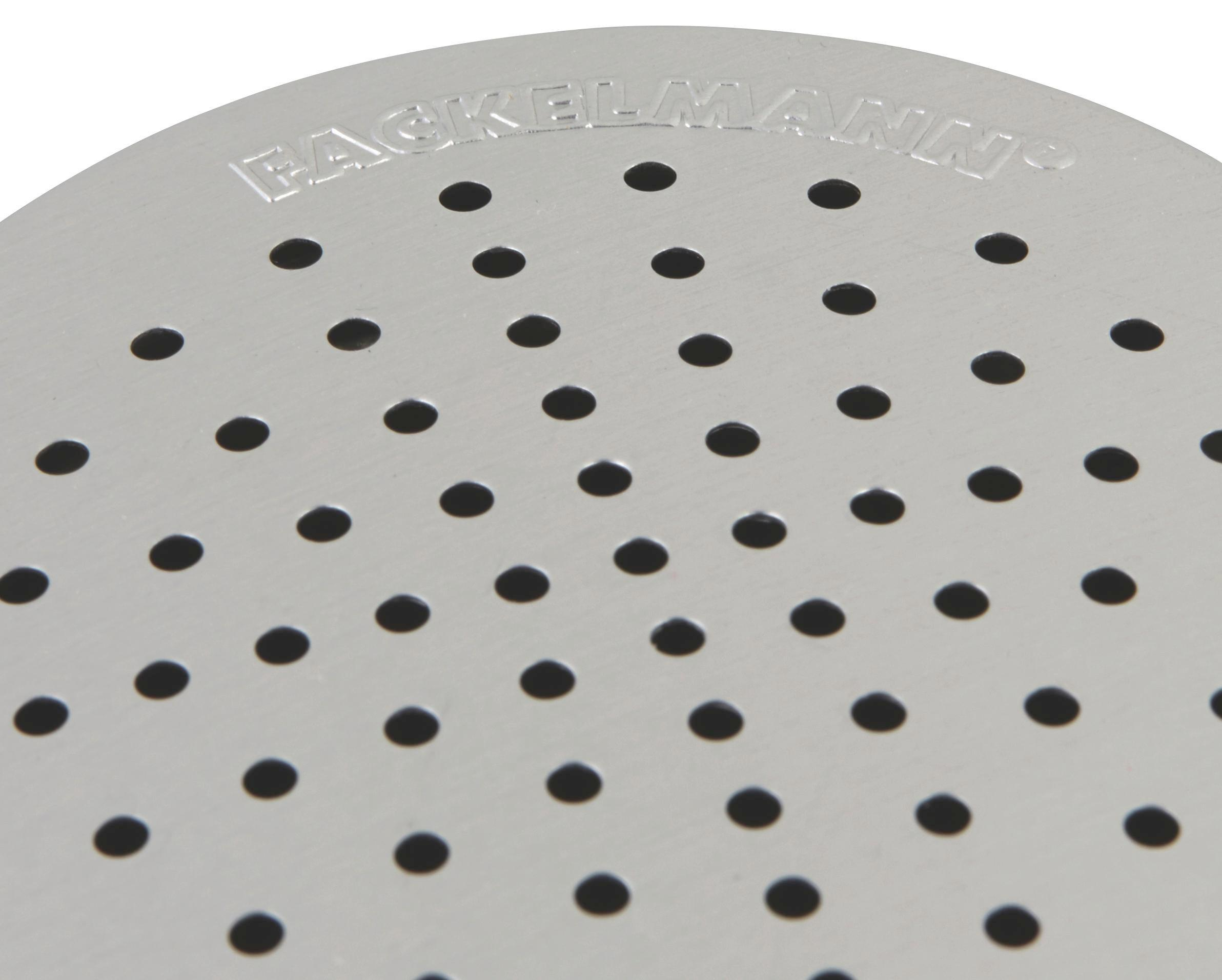 Profi-streuer Aluminium - Silberfarben, KONVENTIONELL, Metall (7/11,5cm) - FACKELMANN