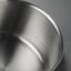 Hrnec Frank - barvy stříbra/čiré, Konvenční, kov/sklo (16/9,5cm) - Premium Living