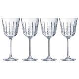 Weinglas 4er Pack, 35cl - Transparent, Design, Glas (350ml)