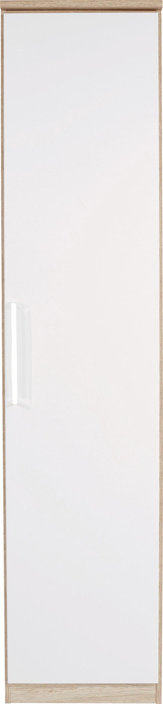 Šatná Skriňa Wien - farby dubu/biela, Konvenčný, kompozitné drevo (47/212/56cm)