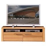 TV-Lowboard Nature Plus B: 130 cm Buche Teilmassiv - Buchefarben, Basics, Holz/Holzwerkstoff (130/40/45cm) - Livetastic