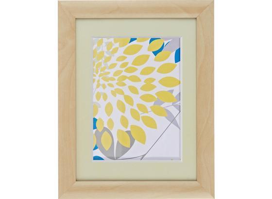 Rám Na Obrazy Anna - přírodní barvy, Romantický / Rustikální, dřevo/sklo (18/24cm) - Mömax modern living