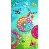 Strandtuch Mystic - Multicolor, Basics, Textil (100/180cm)