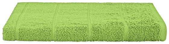 Duschtuch Liliane - Grün, KONVENTIONELL, Textil (70/140cm) - Ombra