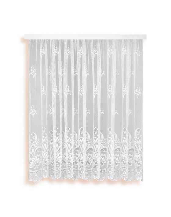 Blumenstore Andrea - Weiß, KONVENTIONELL, Textil (300/145cm) - Ombra