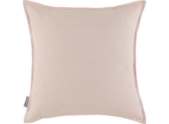 Polštář Ozdobný Solid One -ext- - starorůžová, textil (45/45cm)