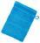 Waschlappen Liliane - Blau, KONVENTIONELL, Textil (16/21cm) - Ombra