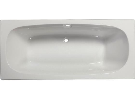 Badewanne Marbella 180 - Weiß, KONVENTIONELL, Kunststoff (180/80/41cm)