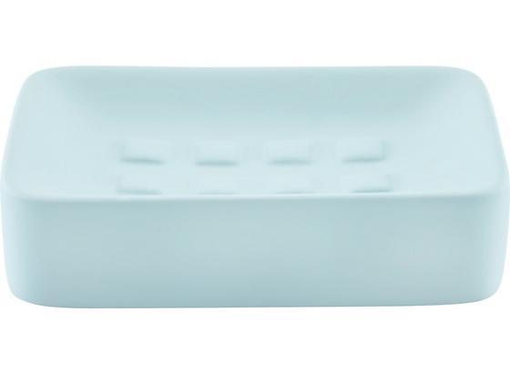 Miska Na Mydlo Carina - modrá, keramika (8,3/12,5cm) - Mömax modern living