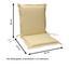Sesselauflagenset Premium T: 100 cm Beige - Beige, Basics, Textil (50/8-9/100cm) - Ambia Garden