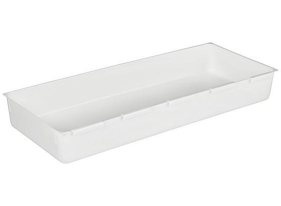 Príborník Wanda - biela, plast (14,9/37,5cm)
