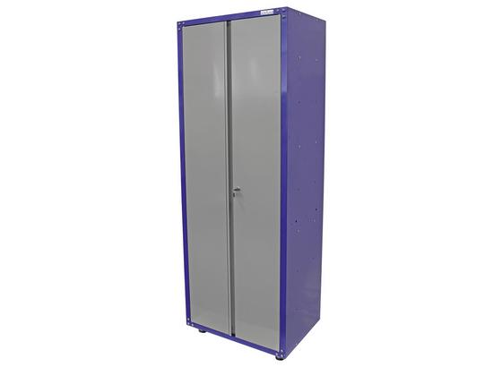 Werkstattschrank 2 Turig 67 Cm Grau Blau Online Kaufen Mobelix