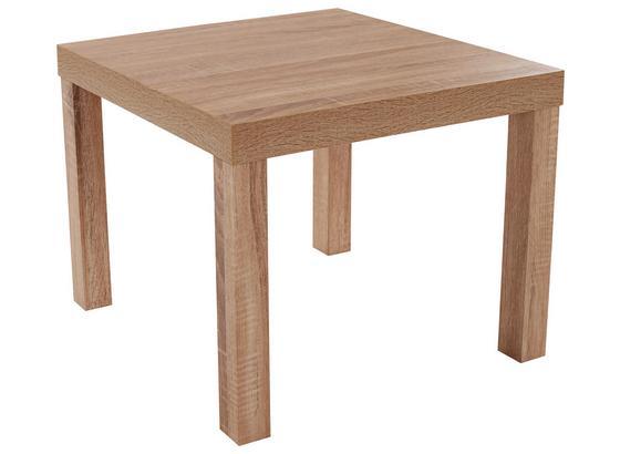 Konferenčný Stolík Nora - dub sonoma, Moderný, kompozitné drevo (55/42/55cm)