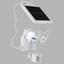 LED-Solarleuchte Tina - Klar/Weiß, MODERN, Kunststoff (18/11/19cm)