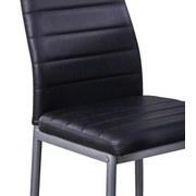 Étkezőgarnitúra Wels *ph* - Alu/Fekete, konvencionális, Üveg/Fém (120/75/80cm)