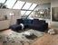 Wohnlandschaft in L-Form California 230x250cm - Edelstahlfarben/Schwarz, MODERN, Textil (230/250cm) - Luca Bessoni