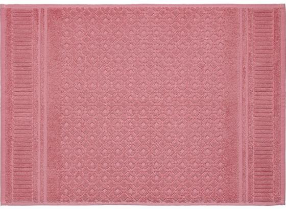 Rohožka Do Kúpeľne Carina - ružová, Romantický / Vidiecky, textil (50/70cm) - Mömax modern living