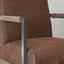 Sessel Tyler B: 62 cm Braun - Schwarz/Braun, LIFESTYLE, Leder/Textil (62/84/70cm) - Livetastic