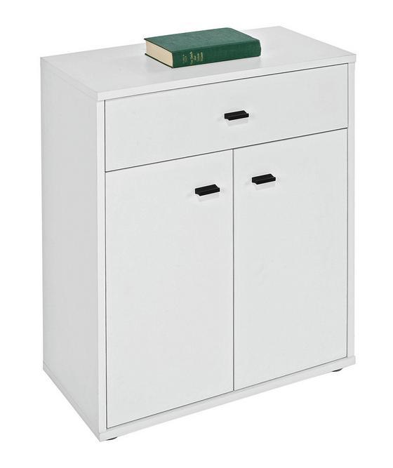 Komoda Boni - biela, Moderný, drevený materiál (60/70/30cm)