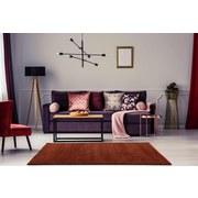 Hochflorteppich Soft, 120/170 - Kupferfarben, MODERN, Textil (120/170cm)