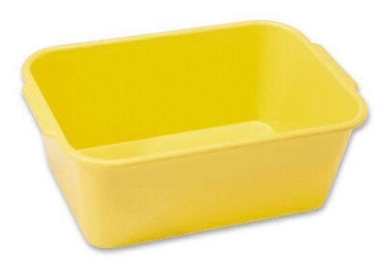 Aufbewahrungsbox Hw3a - Blau/Gelb, KONVENTIONELL, Kunststoff (28/11/20cm)