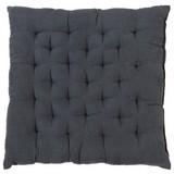 Sitzkissen Agatha - Grau, KONVENTIONELL, Textil (40/40/6cm) - OMBRA