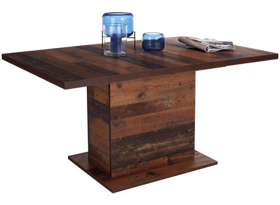 Výsuvný Stôl Clif 160 Az - Moderný, kov/kompozitné drevo (160-200/76,6/90cm)