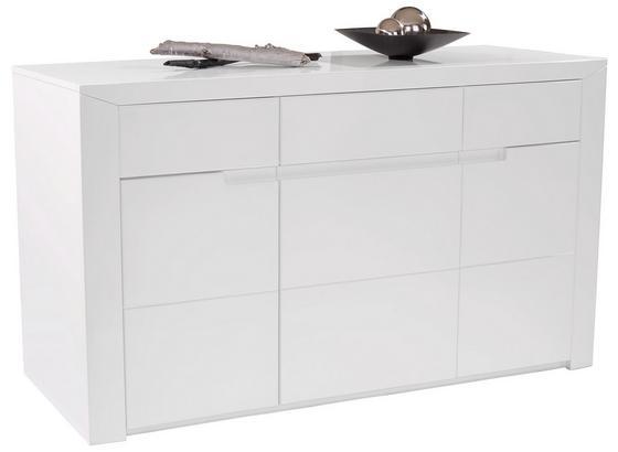 Komoda Sideboard Bree - biela, Moderný, kompozitné drevo (169,6/83,5/49,2cm)