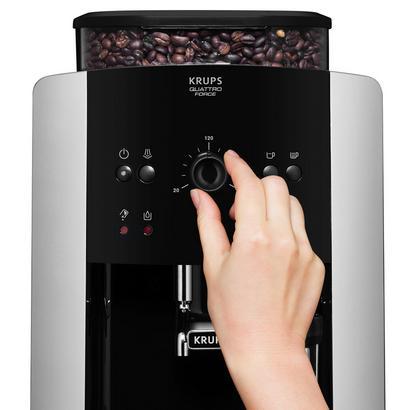 KRUPS Kaffeevollautomat mit Express-Edelstahl-Mahlwerk