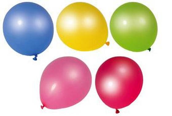 Luftballon Ø 23 cm - Blau/Gelb, KONVENTIONELL, Kunststoff (23cm) - Fackelmann