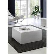 Couchtisch Monobloc L: ca. 60 cm Weiß - Weiß, MODERN, Holzwerkstoff (60/60/30cm) - MID.YOU