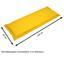 Bankauflage Premium T: 120 cm Gelb - Gelb, Basics, Textil (45/8-9/120cm) - Ambia Garden