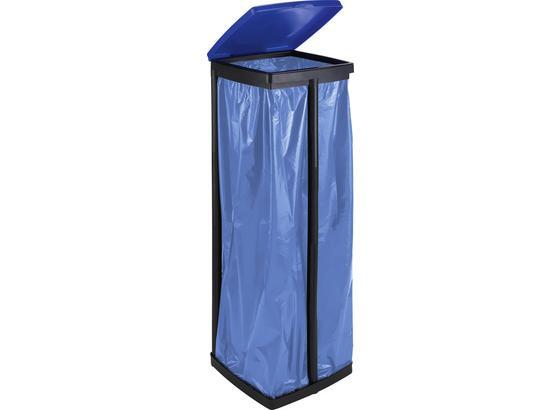 Stojan Na Odpadové Vrecká Rudi - modrá/čierna, plast (87cm) - Mömax modern living