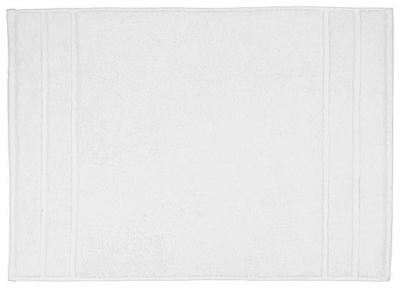 Předložka Koupelnová Melanie - bílá, Trend, textil (50/70cm)