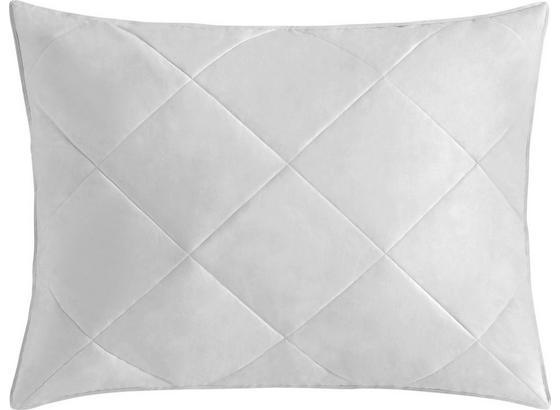 Vankúš Steffi - biela, textil (70/90cm) - Mömax modern living