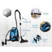 Bodenstaubsauger Comfort Clean T9120 - Blau, Basics, Kunststoff (52,5/32,5/32,5cm)