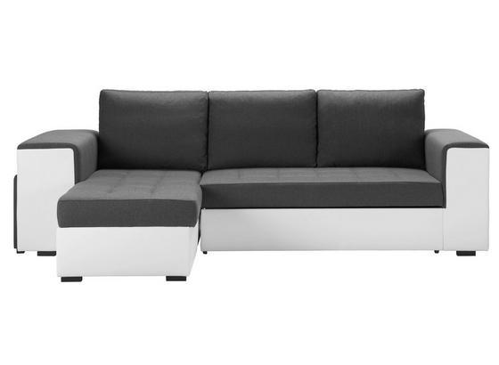 Sedacia Súprava Harbour *cenovy Trhak* - sivá/biela, Moderný (260/150cm) - Modern Living