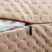 Odobný Polštář Miley - béžová, Moderní, textil (45/45cm) - MODERN LIVING