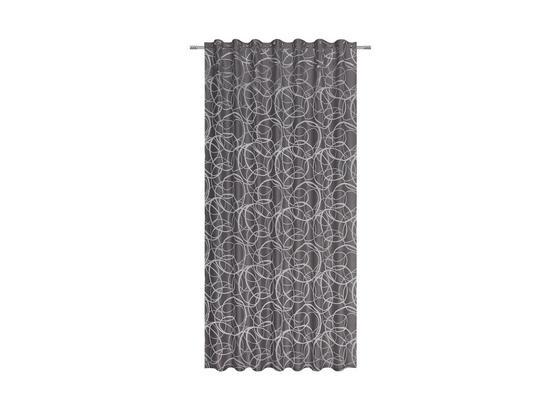 Závěs Hotový Marlene - šedá, Konvenční, textil (140/245cm) - Mömax modern living