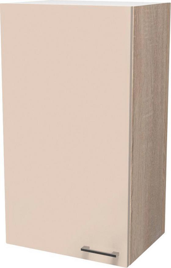 Konyha Felsőszekrény Nepal - bézs, modern, faanyagok (50/89/32cm)