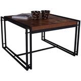COUCHTISCH BISTRO - Schwarz/Naturfarben, MODERN, Holzwerkstoff/Kunststoff (72/45/72cm)