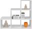 Dělicí Stěna Pisa 5 - bílá, Moderní, kompozitní dřevo (112/114/35cm)