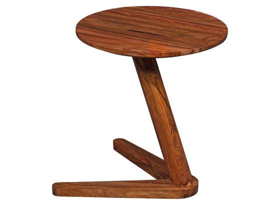 Beistelltisch Boha D: ca. 45 cm - Sheeshamfarben, Design, Holz (45/45/50cm) - Livetastic