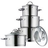 Kochtopfset Provence Cromargan - Silberfarben, MODERN, Glas/Metall - WMF