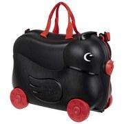 Kindertrolley Donald - Rot/Schwarz, MODERN, Kunststoff/Textil (45/34/23cm)