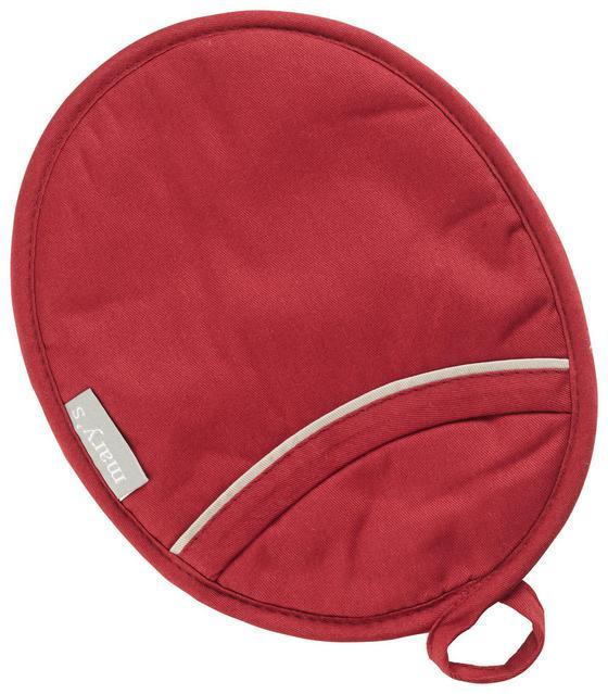 Kuchyňská Rukavice Alex Rund -ext- - červená, textil (18,5/24cm) - Mömax modern living