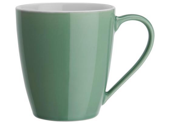 Hrnček Na Kávu Sandy - zelená, Konvenčný, keramika (8,9/10cm) - Mömax modern living